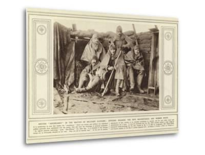 British Ascendancy in the Matter of Military Clothing--Metal Print
