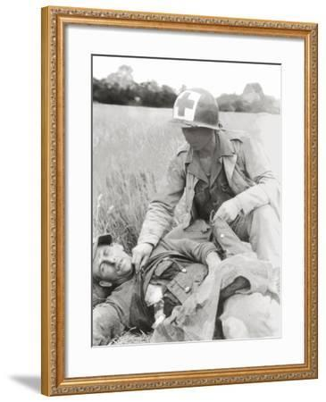 Corporal Roy C. Moore of Lubbock Texas--Framed Photographic Print