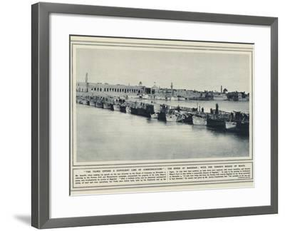 The Tigris Offers a Sufficient Line of Communications--Framed Photographic Print