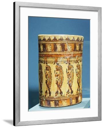 Ulua Polychrome Terracotta Vase Shaped--Framed Giclee Print