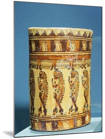 Ulua Polychrome Terracotta Vase Shaped--Mounted Giclee Print