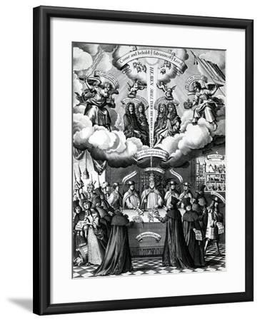 The Happy Instruments of Englands Preservation--Framed Giclee Print