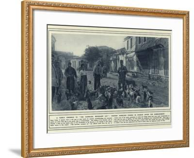 A Turk's Kindness to the Harmless--Framed Photographic Print