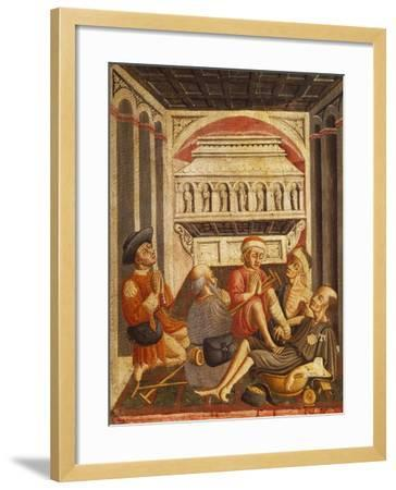 Sick by the Tomb of St Anthony--Framed Giclee Print