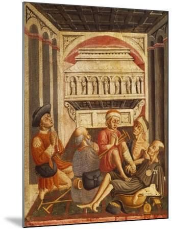 Sick by the Tomb of St Anthony--Mounted Giclee Print