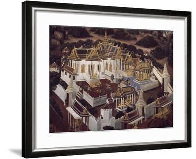 Detail from Stories of Ramakien--Framed Photographic Print