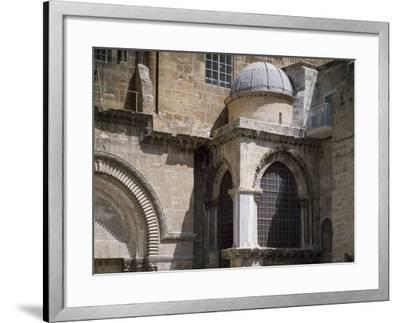 Exterior of Chapel of Crusaders--Framed Photographic Print