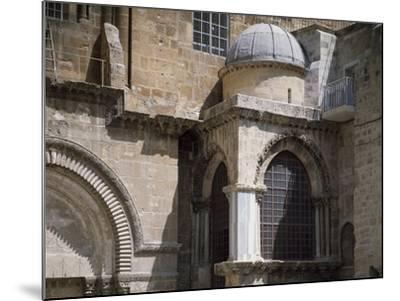 Exterior of Chapel of Crusaders--Mounted Photographic Print