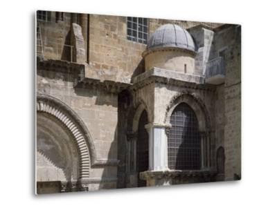 Exterior of Chapel of Crusaders--Metal Print