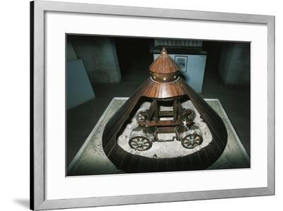 Models from Leonardo's Drawings--Framed Photographic Print