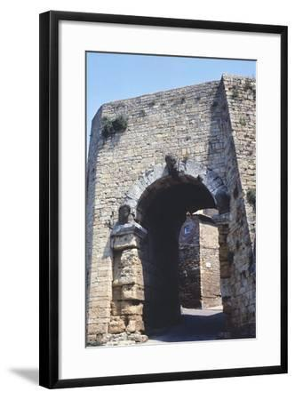 Porta All'Arco or Etruscan Arch--Framed Photographic Print