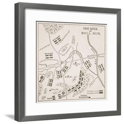 Position of the Forces at Noon--Framed Giclee Print