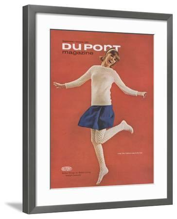 Lively Teen Fashions Leap to the Fore--Framed Giclee Print