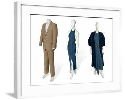 Two-Piece Suit in Fawn Gabardine--Framed Photographic Print