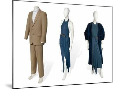 Two-Piece Suit in Fawn Gabardine--Mounted Photographic Print