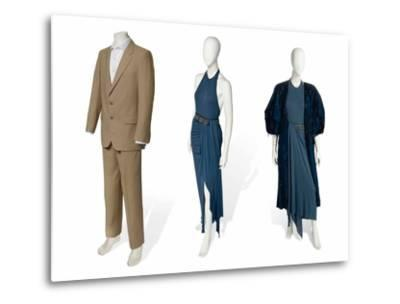 Two-Piece Suit in Fawn Gabardine--Metal Print