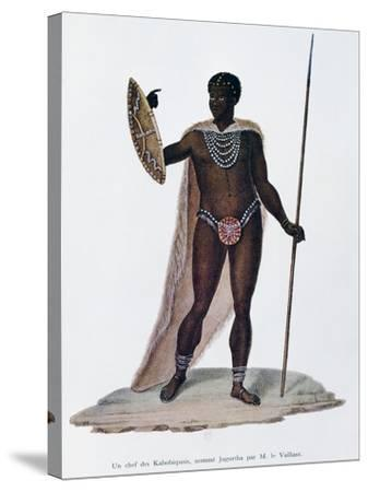 Village Chief of Kabobiquois People--Stretched Canvas Print