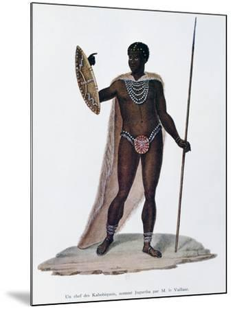 Village Chief of Kabobiquois People--Mounted Giclee Print