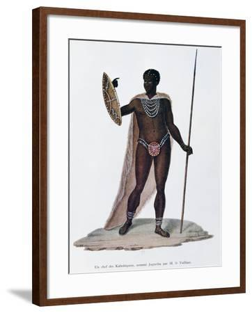 Village Chief of Kabobiquois People--Framed Giclee Print