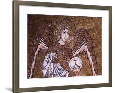 Half-Figure of Archangel Michael--Framed Giclee Print