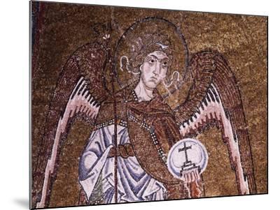 Half-Figure of Archangel Michael--Mounted Giclee Print