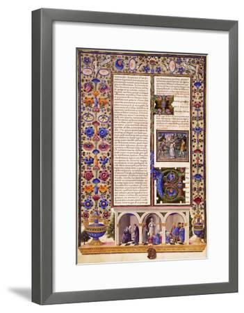 Prologue to Prophetic Books--Framed Giclee Print