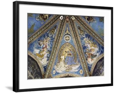 The Annunciation and Angels--Framed Giclee Print