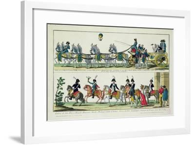 Entry to Paris of Charles--Framed Giclee Print