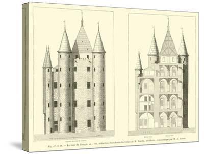 La Tour Du Temple En 1793--Stretched Canvas Print