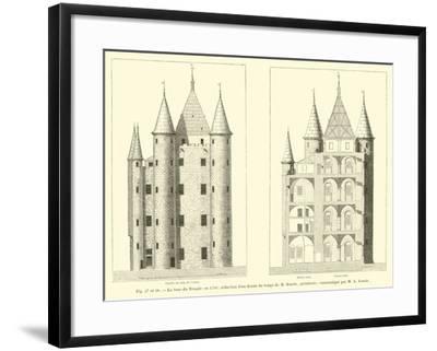 La Tour Du Temple En 1793--Framed Giclee Print