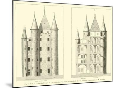 La Tour Du Temple En 1793--Mounted Giclee Print