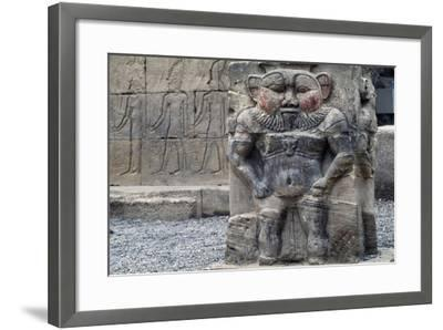 Bas-Relief of God Bes--Framed Giclee Print