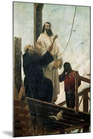 Martyrdom of Tiradentes--Mounted Giclee Print