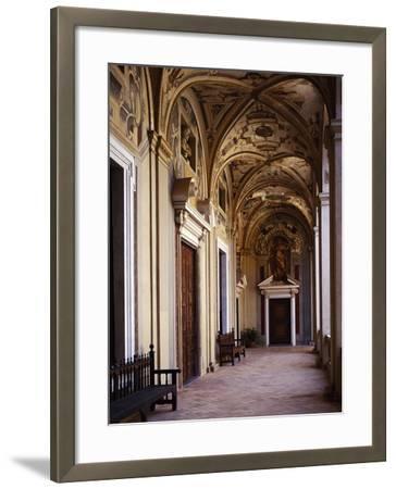 Upper Floor Portico--Framed Giclee Print