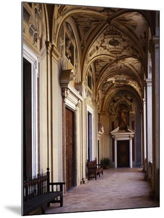 Upper Floor Portico--Mounted Giclee Print