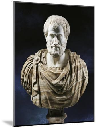 Bust of Aristotle--Mounted Giclee Print