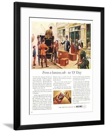 Advert for Heinz Soup--Framed Giclee Print