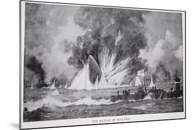 The Battle of Jutland--Mounted Giclee Print