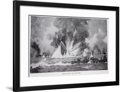 The Battle of Jutland--Framed Giclee Print