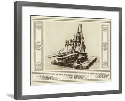 The Famous Skoda 17-Inch--Framed Photographic Print