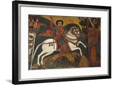 St George and Dragon--Framed Photographic Print