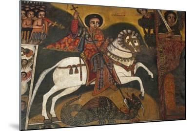 St George and Dragon--Mounted Photographic Print
