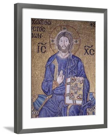 Christ Enthroned--Framed Photographic Print