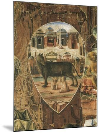Shield Depicting Romulus--Mounted Giclee Print