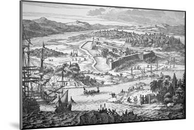 Arx Carolina--Mounted Giclee Print