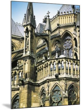 Detail of Arches and Figures of Monsters and Animals of Cathedral of  Notre-Dame Photographic Print by | Art com