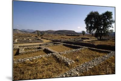 Pakistan, View of Excavations of Ancient Sirkap Archaeological Site of Today's Taxila--Mounted Photographic Print