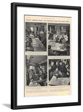 The Vigil of the Coastal Command, from 'The Illustrated London News', 7th June 1941--Framed Photographic Print