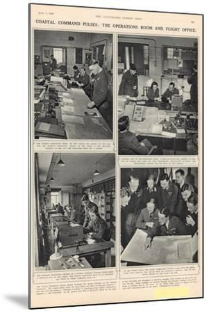 The Vigil of the Coastal Command, from 'The Illustrated London News', 7th June 1941--Mounted Photographic Print