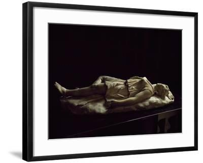 Statue of Dead Amazon, Roman Copy from Original Made by School of Pergamon--Framed Giclee Print